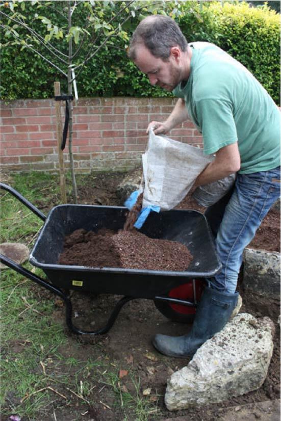 Плодородная почва для горки