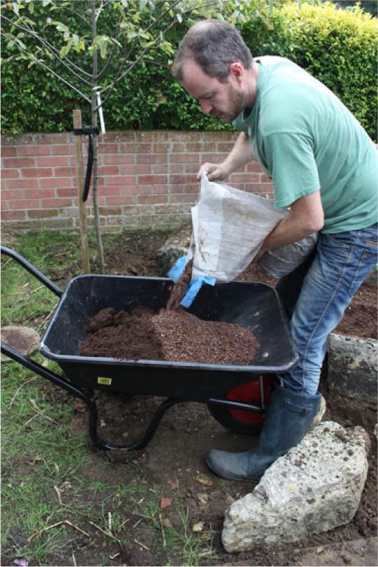 Приготовление почвы